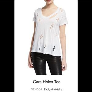 Zadig and Voltaire Cara Holes size M